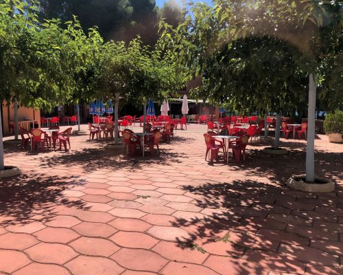 Terraza Entrelagos